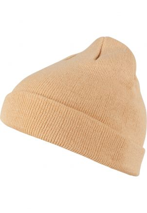 Short Pastel Cuff Knit Beanie