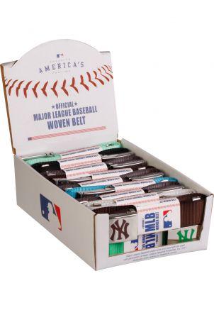 MLB Wovenbelt Display