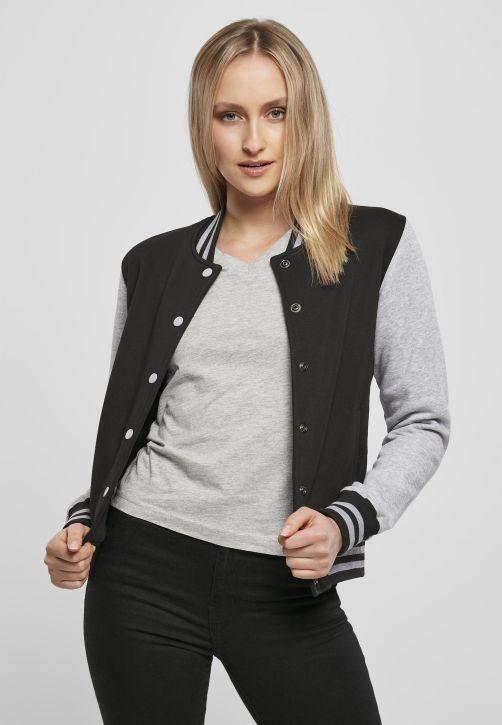Ladies Sweat College Jacket