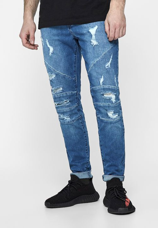 ALLDD Paneled Ian Denim Pants