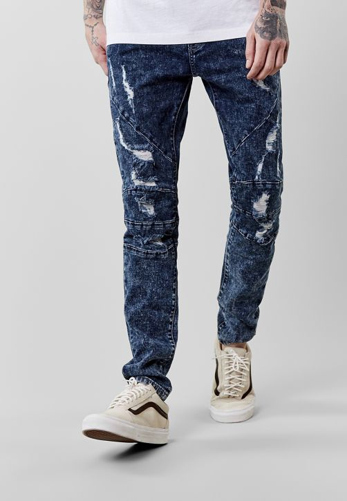 C&S ALLDD Paneled Denim Pants