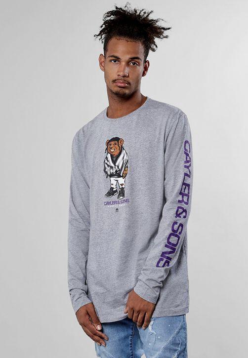 C&S WL Purple Swag Longsleeve