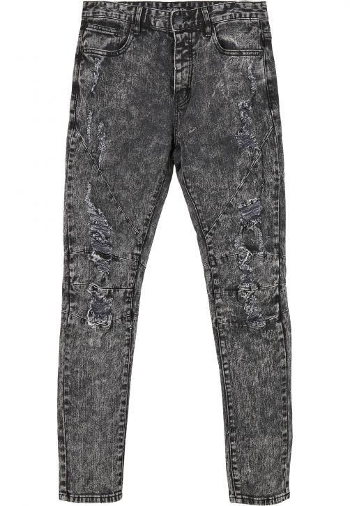 C&S Paneled Denim Pants