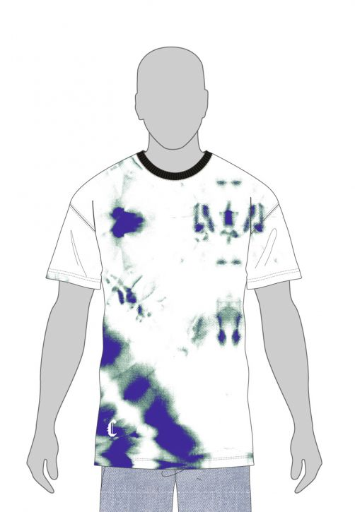 CSBL Meaning Of Life Tie Dye Box Tee