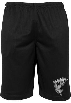 Famous Logo Mesh Shorts