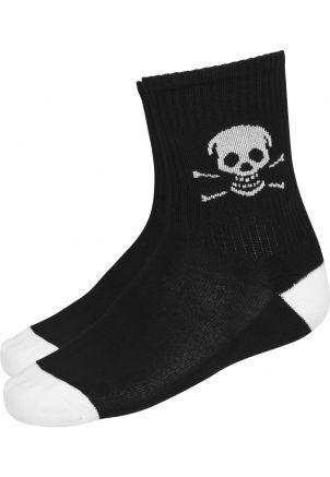 Famous Skull Socks Double Pack