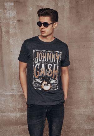 Johnny Cash Man In Black Tee