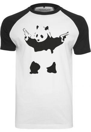 Banksy Panda Raglan Tee