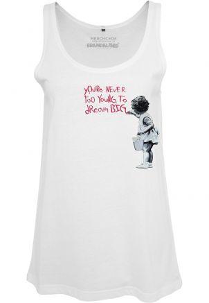 Ladies Banksy Girl Dream Tanktop