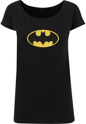 Ladies Batman Logo Tee