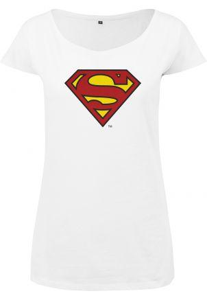 Ladies Superman Logo Tee