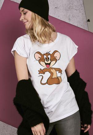 Ladies Tom & Jerry Mouse Tee