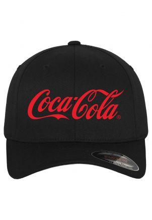 Coca Cola Logo Flexfit Cap