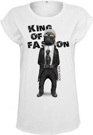 Ladies Petsrock King of Fashion Tee
