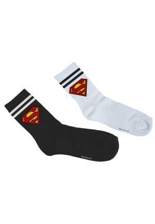 Superman Socks Double Pack