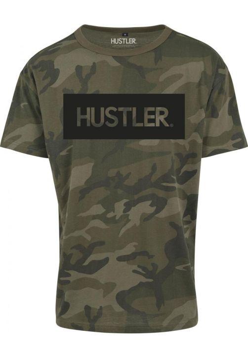Hustler Logo Camo Tee