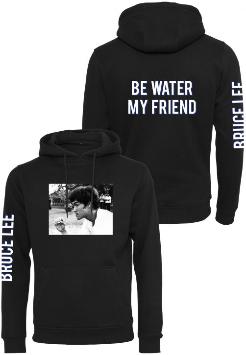 Bruce Lee Be Water My Friend Hoody