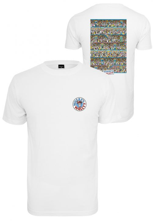 Ladies Where Is Wally Corridors Of Time Tee