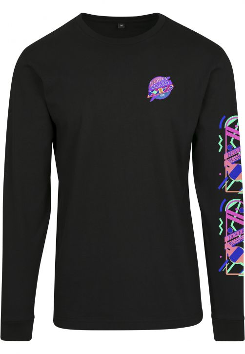 Ladies Back To The Future Hoverboard Longsleeve