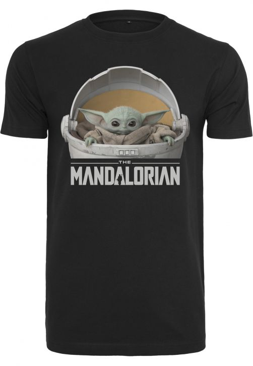 Baby Yoda Mandalorian Logo Tee