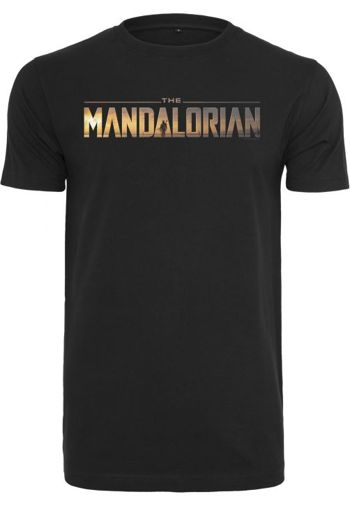 Star Wars The Mandalorian Logo Tee