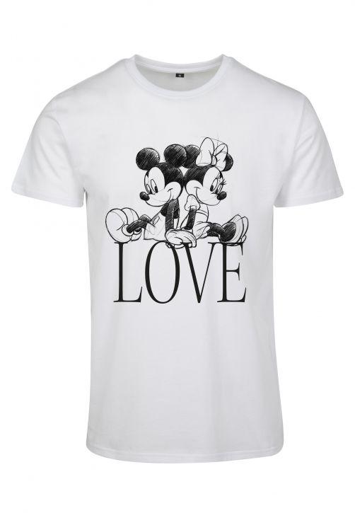 Ladies Minnie Loves Mickey Tee
