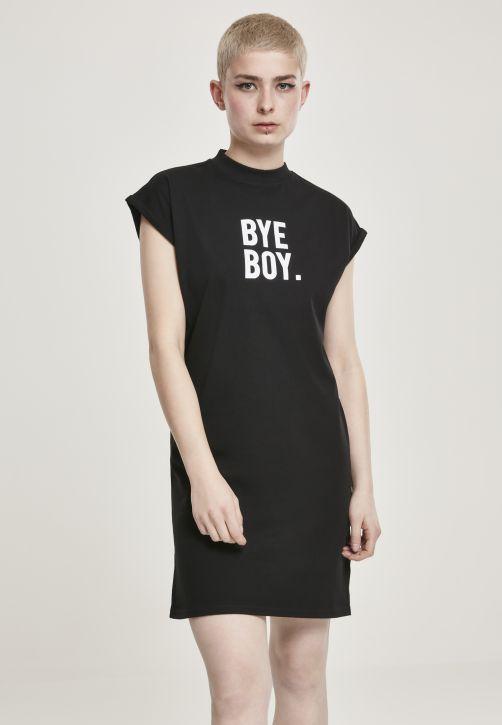 Ladies Bye Boy Extended Shoulder Dress