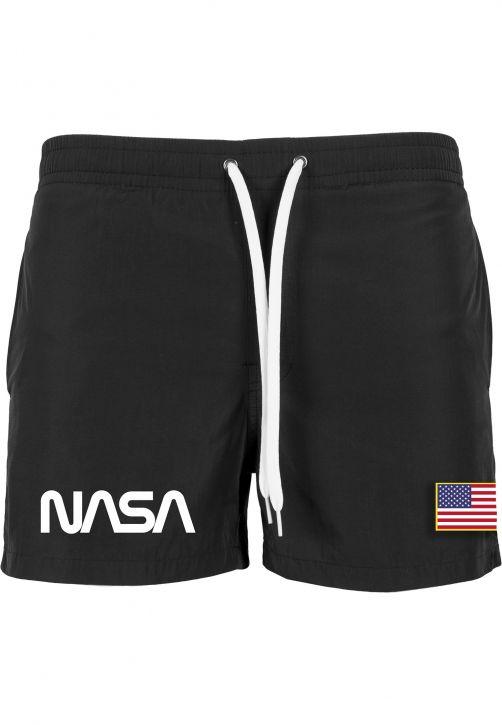 NASA Worm Logo Swim Shorts