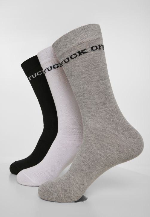 Fuck Off Socks 3-Pack