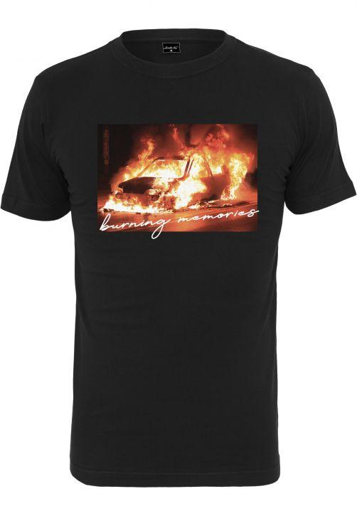 Burning Car Tee