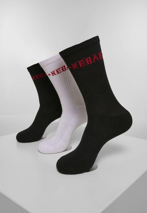Kebab Socks 3-Pack