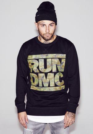 RUN DMC Camo Crewneck