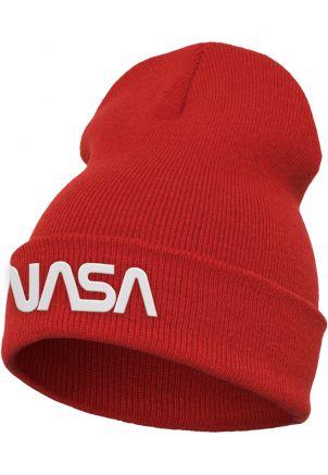 NASA Worm Logo Beanie