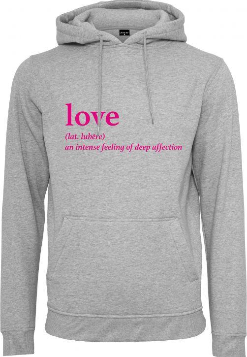 Ladies Love Definition Hoody