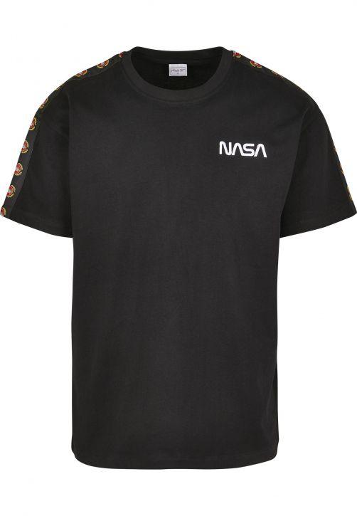 NASA Red Spaceship Tape Tee