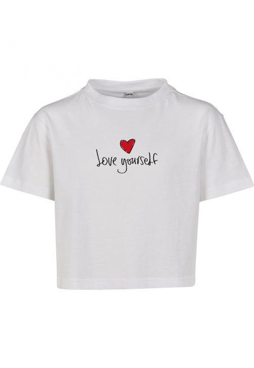 Kids Love Yourself Cropped Tee