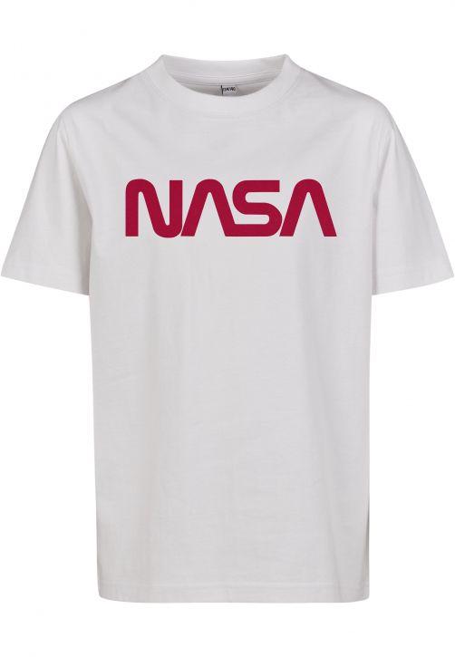 Kids NASA Worm Logo Tee