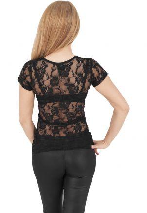Ladies Back Laces Tee