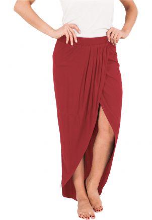 Ladies Long Viscon Skirt