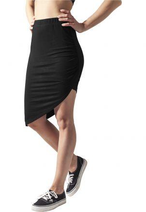 Ladies Asymetric Viscose Skirt