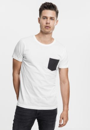 Quilted Pocket Tee