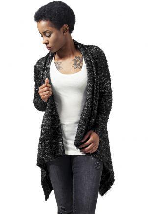 Ladies Knit Feather Cardigan