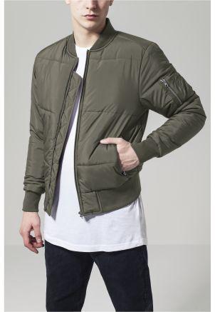 Basic Quilt Bomber Jacket
