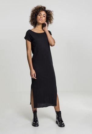 Ladies Slub Long Dress