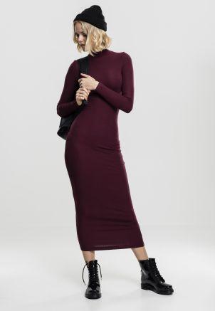 Ladies Long Turtleneck Dress