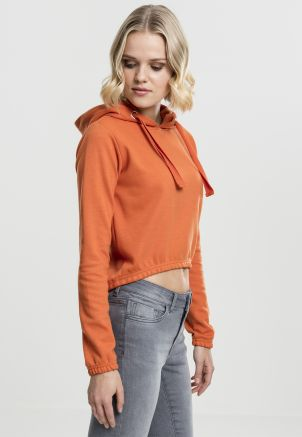Ladies Interlock Short Hoody