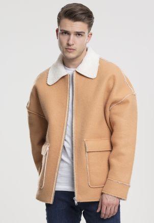 Bonded Oversized Sherpa Jacket