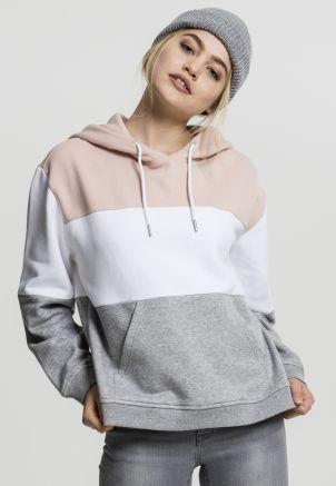 Ladies Oversize 3-Tone Hoody