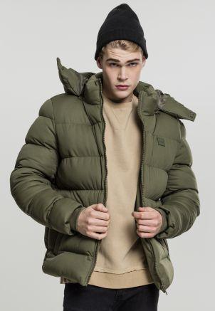 Hooded Boxy Puffer Jacket