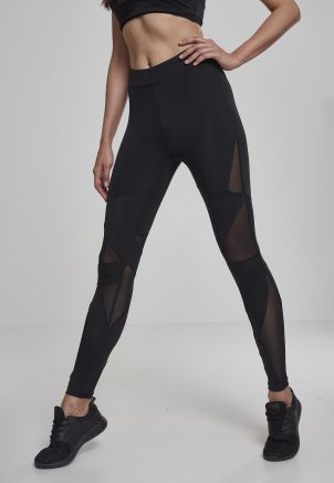 Ladies Triangle Tech Mesh Leggings